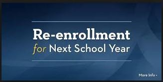 Re-Enrollment 2020-2021