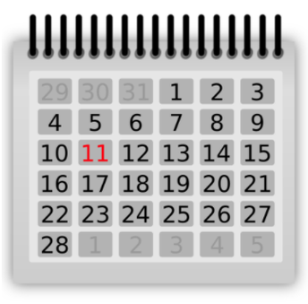 Dates to remember . . . . . . .
