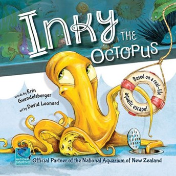 Inky the Octopus by Erin Guendelsberger