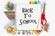 Back to School Night is Tuesday, August 18th.