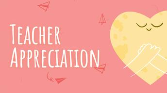 EC Teacher Appreciation
