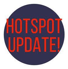 HOTSPOT UPDATE