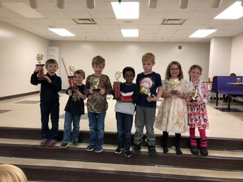 1st Grade & Under Division Winners