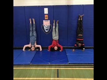 3/4 P Practising balancing!