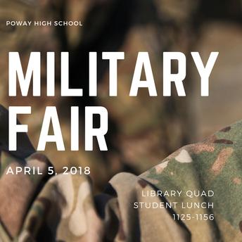 Military Fair - April 5