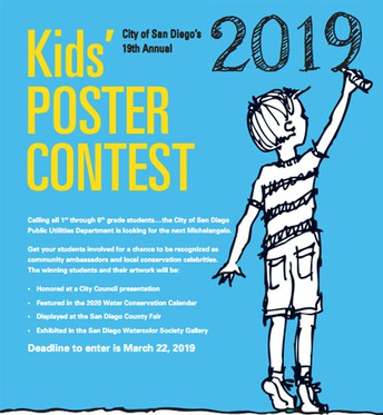 (K-6) Water Conservation Poster Contest