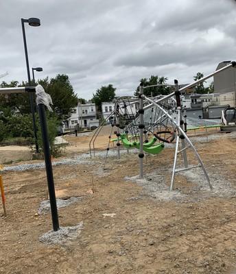 New playground equipment!