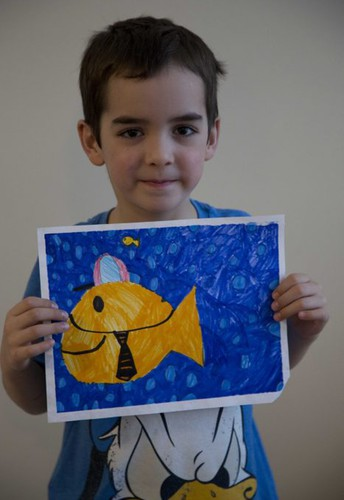 Holy Spirit artist gets the gold(fish)