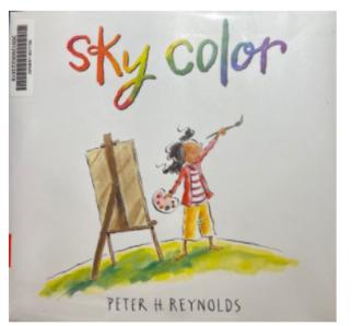 """Book Blurb- """"Sky Color"""""""