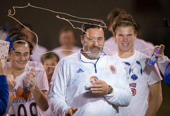 Soccer Coach Jason Oertling Wins 600th Career Game