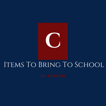Items To Bring To School