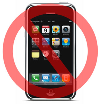 Cell Phone and Electronics Use Prohibited in School