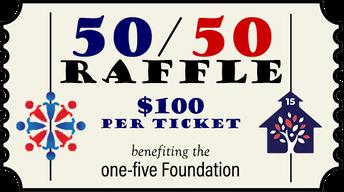 one-five Foundation 50/50 Raffle