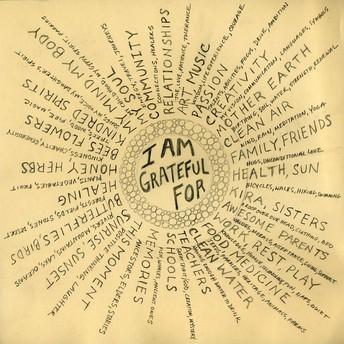 Gratitude what?