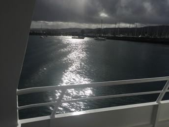 A dazzling ocean