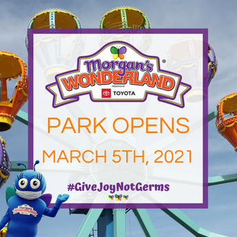 Morgan's Wonderland!