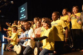 Congrats to CLX 2nd graders for an AWESOME Sound School Performance at the Orange Peel!