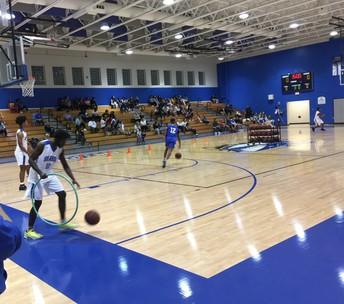 Blue v. White Basketball Game