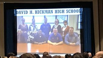 Sustaining Exemplary David H. Hickman HS