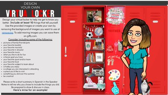 Here is my virtual locker.