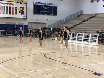 UHS Jaywalkers perform their dance routine