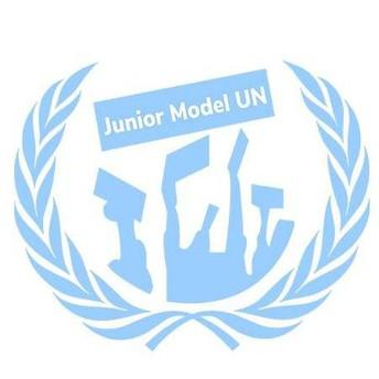 Junior Model U.N. logo