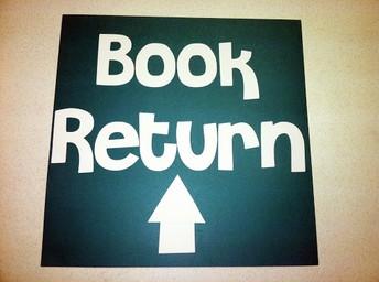 Returning Windsor Library Media Center (LMC) Books