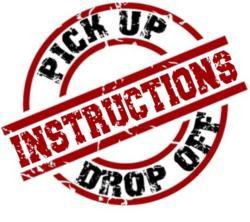 Materials Pick-Up/Drop Off