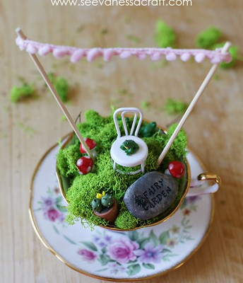 Make a Teacup fairy House
