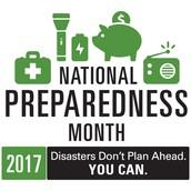 September is National Emergency Preparedness Month