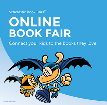 Scholastic Book Fair is here!
