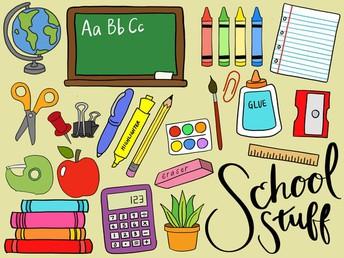 Grade Level School Supply Lists