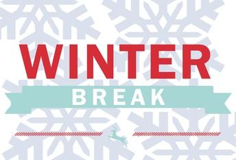 Winter Break starts this weekend!