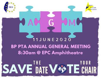 BPS PTA AGM - by Mr Luke Chaeter