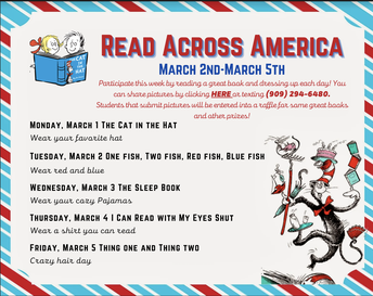Read Across America Spirit Week: