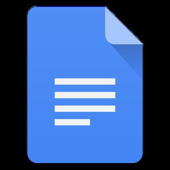 Google skjöl (e. Docs)