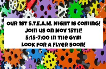 ¡La 1ra noche anual de STEAM está por llegar!