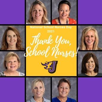 Thank you, School Nurses