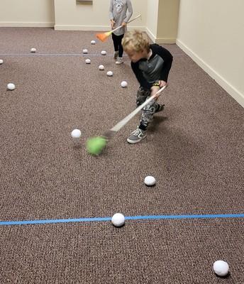 Sweeping Snowballs!