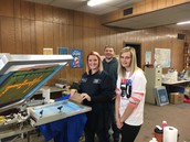 Graphics Arts students learn skills at Graphitti