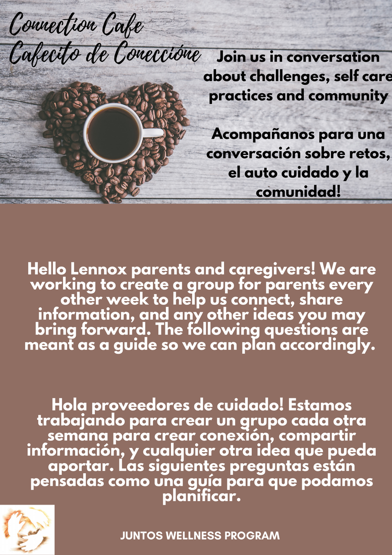 Flyer for Interest in Parent Support Group Survey
