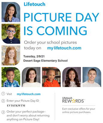 Picture Day is February 9