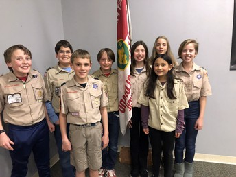 Troop 171 G and B Begins!