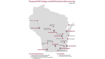 UW System Merges 2 Year and 4 Year Campuses