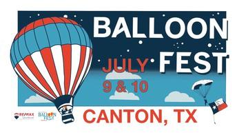July 9-10 Canton Balloon Fest