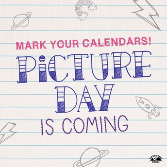 Picture Day Tuesday and Wednesday!