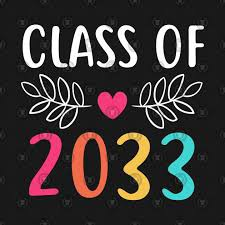 Welcome to the Class of 2033