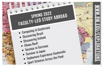 Study Abroad - spring 2022
