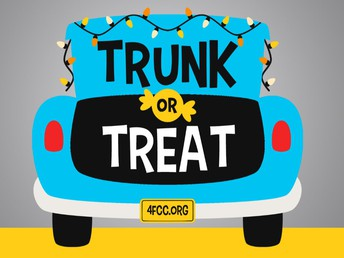 CATHEDRAL TRUNK OR TREAT TOMORROW NIGHT