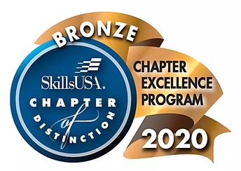 SEB High wins Bronze 2020 SkillsUSA Georgia Chapter of Excellence Award